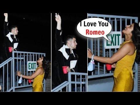 Priyanka Chopra and Husband Nick Jonas Recreate Scene From Romeo and Juliet at Wango Tango Concert Mp3