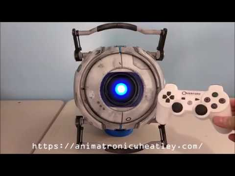Animatronic Wheatley v2.0- Finished!
