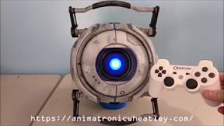 Animatronic Wheatley Robot v2.0