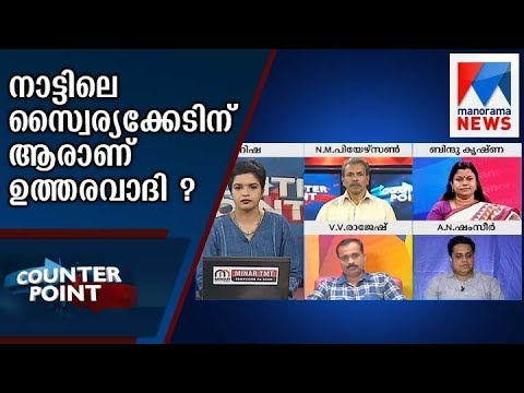 Who is responsible for the issues in state | Counter point | Manorama News