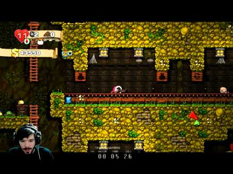 Bombless, ropeless, but not entirely hopeless - Spelunky