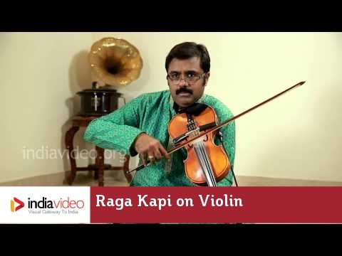 Raga Series - Raga Kapi on Violin by Jayadevan