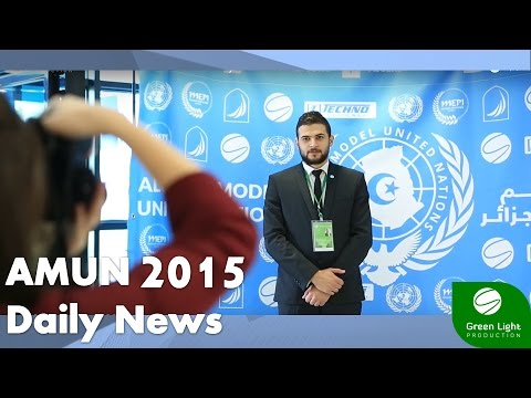 ALGERIA MODEL UNITED NATIONS 2015 - Daily News Bulletin 27.12.2015