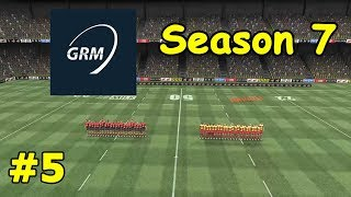 Global Rugby Manager - Season 7 Episode 5