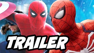 Spider Man PS4 Gameplay Trailer and Captain America Civil War Easter Eggs
