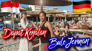 Meet a Germany Girl On The Beach    Kenalan Sama Bule Jerman di Pantai -Beast Beaches In Greece 4K