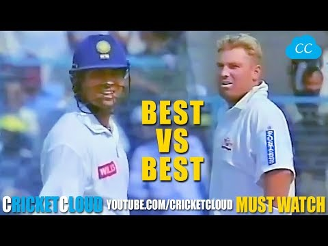 SACHIN Stunned Australia with Back to Back SIXES - IND vs AUS !!