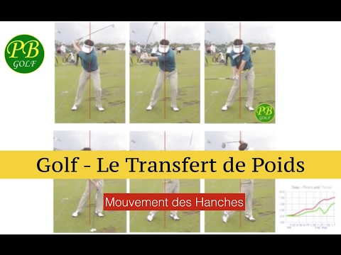 golf le transfert de poids youtube. Black Bedroom Furniture Sets. Home Design Ideas