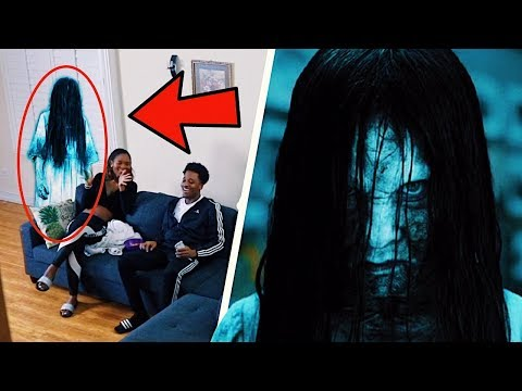 SCARY HALLOWEEN GHOST PRANK!