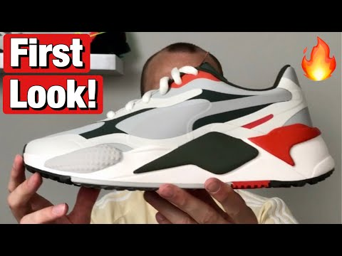 Puma RS-G golf shoes - first look and how they fit on feet