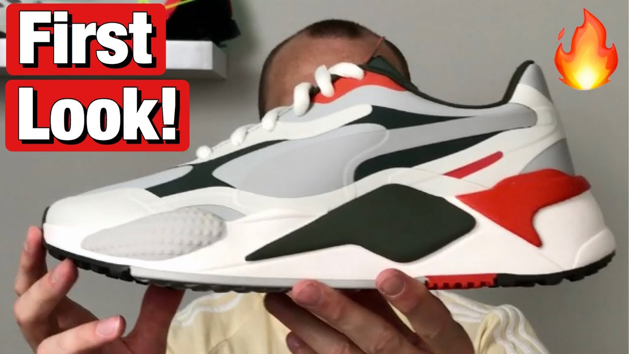 Puma Rs G Golf Shoes First Look And How They Fit On Feet Youtube