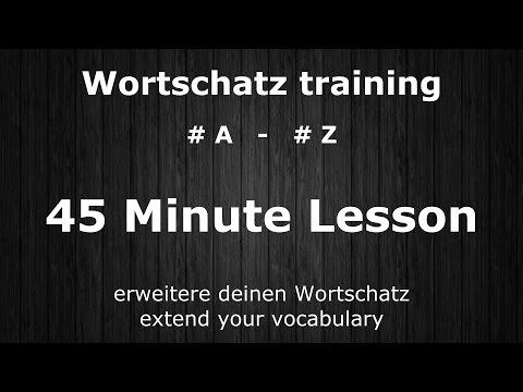 500 Important & Useful Words   #A - #Z   Core Vocabulary Grundwortschatz   German ⇔ English Audio ♫