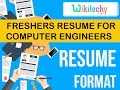 resume | freshers resume for computer engineers | sample resume | resume templates | c v template