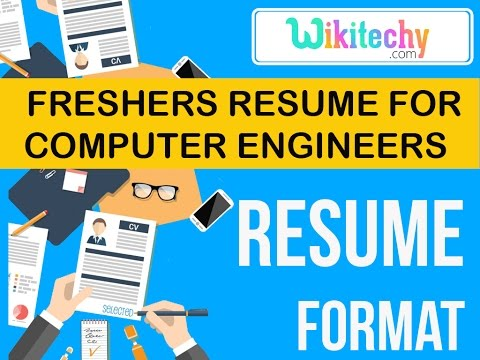 Resume Freshers Resume For Computer Engineers Sample Resume