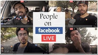 PEOPLE ON FACEBOOK LIVE     DLR Production   