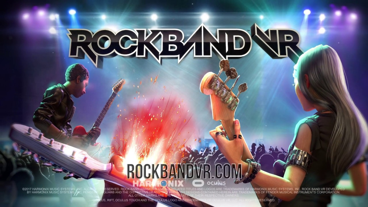 Rock Band VR' Is Out Today, Not Compatible With Xbox 360