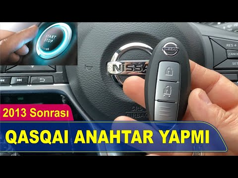 Nissan Qashqai Akıllı Anahtar Yapımı | Yedek Kopyalama - Oto Anahtarcı İstanbul