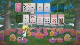 Tenshi no Solitaire Nintendo Wii Video - Classic Klondike