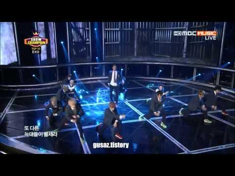 130801~0907 EXO 으르렁(Growl) Stage Mix