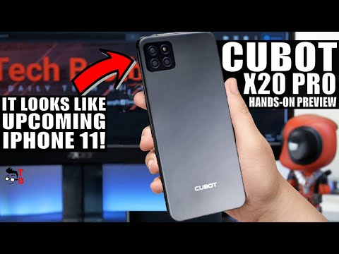 Cubot X20 Pro PREVIEW  iPhone 11 Will Look Like This?