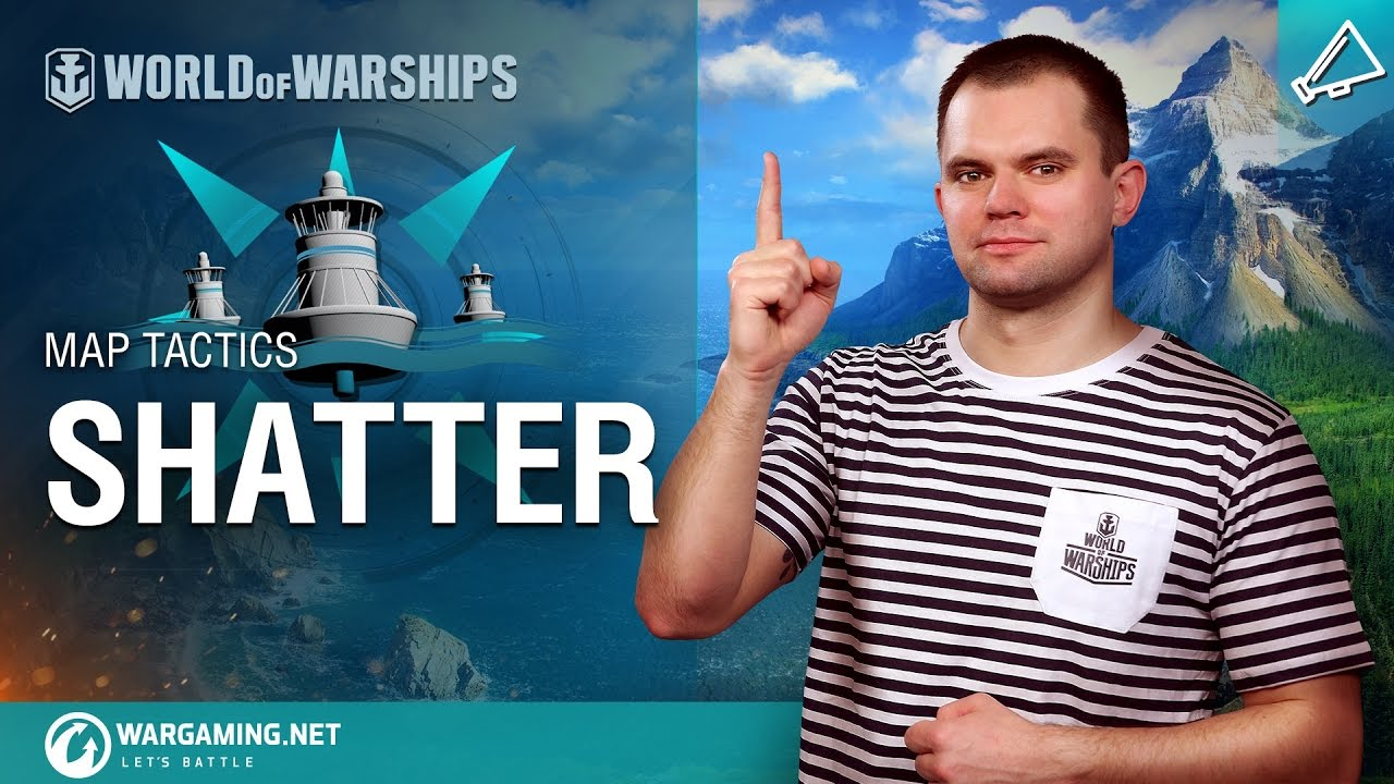 World of Warships – Map Tactics: Shatter