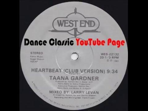 Taana Gardner - Heartbeat (A Larry Levan Club Version)