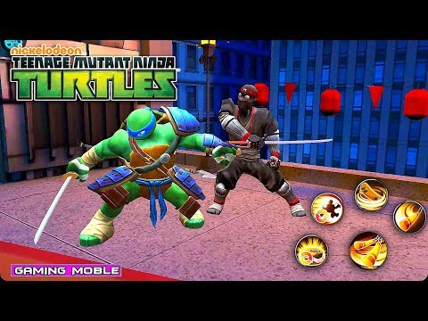 [Android/IOS] Teenage Mutant Ninja Turtles OL - 3D RPG Gameplay