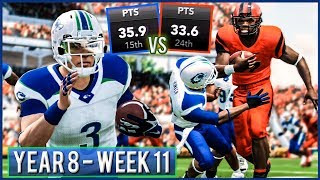 Winner Takes Over 1st Place - NCAA Football 14 Dynasty Year 8 - Week 11 @ Oregon State | Ep.141