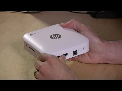 HP Chromebox Review - Compared to Asus Chromebox CB1-014 - It's not fanless