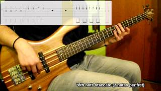Lesson #7: Staccato Lvl.1 (Bass Exercise) (Play Along Tabs In Video)