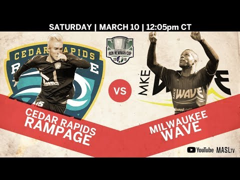 Cedar Rapids Rampage vs Milwaukee Wave