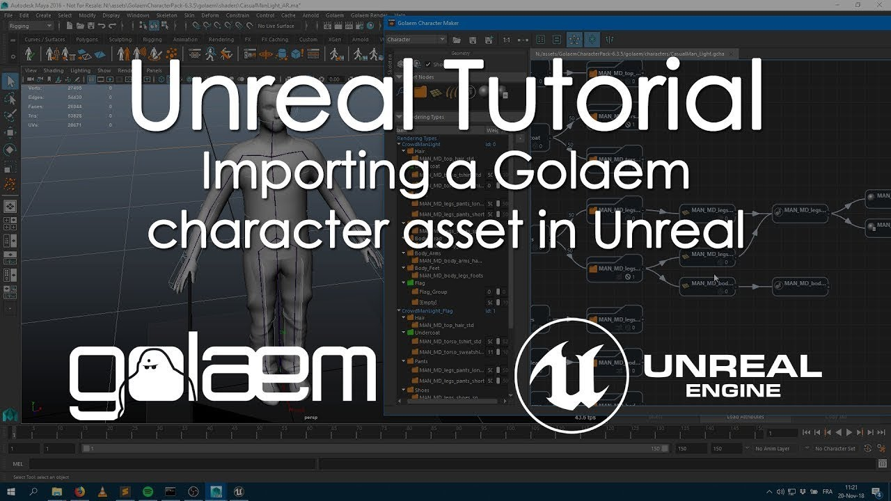 Rendering With Unreal Engine | Golaem