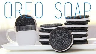 Oreo Soap Tutorial - How To Make Oreo Cookie (Food) Soap Thumbnail