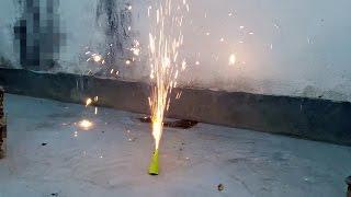 How To Make A Volcano Fire Cracker (Easy tutorial)