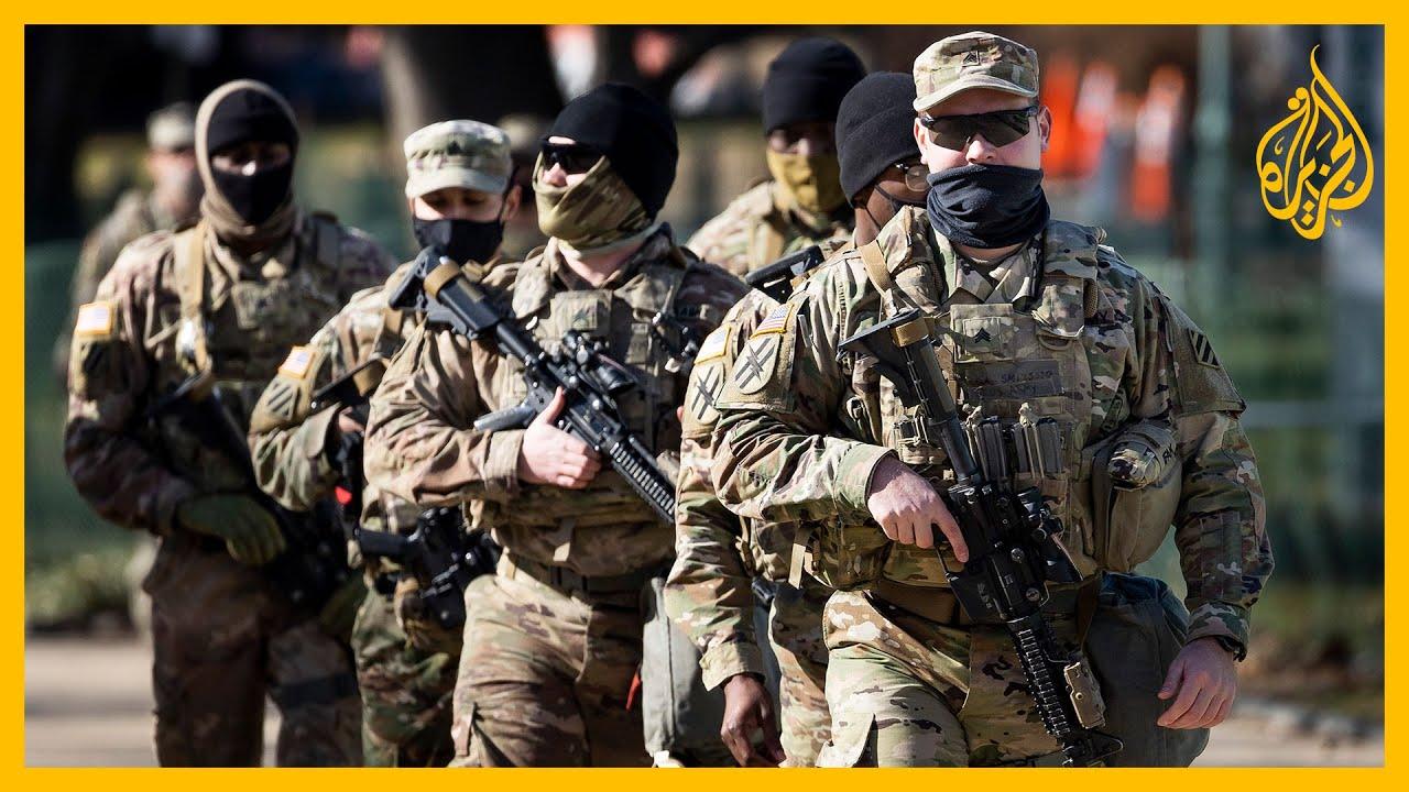 للاشتباه في توجهاتهم.. سحب عناصر من الحرس الوطني من تأمين حفل التنصيب  - نشر قبل 28 دقيقة