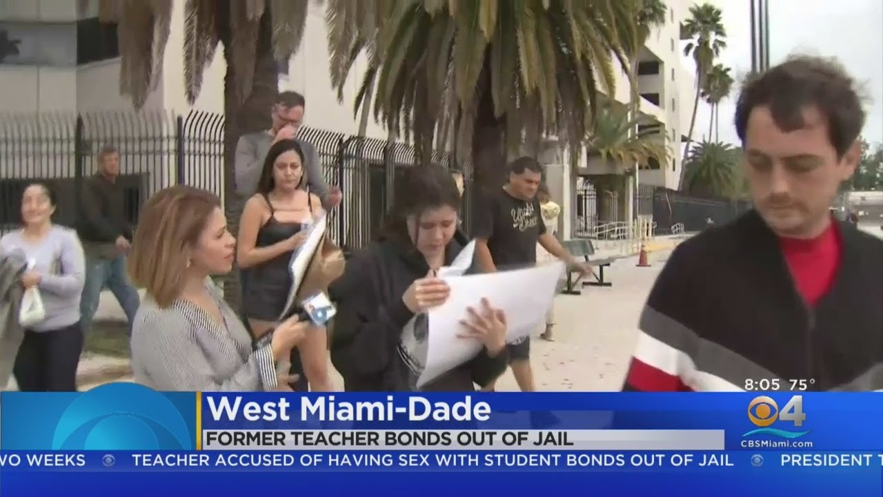 Doral Teacher Out On Bond After Being Charged For Having Relationship With  Student - YouTube