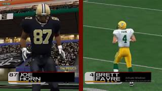 NFL 2K3 - Franchise - Packers vs Saints 1st Half (Dolphin Emu)