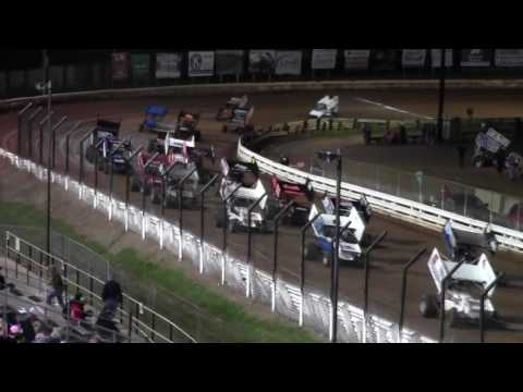 Williams Grove Speedway 410 and 358 Sprint Car Highlights 9-16-16