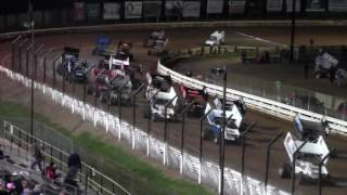 Williams Grove Speedway 410 and 358 Sprint Car Highlights