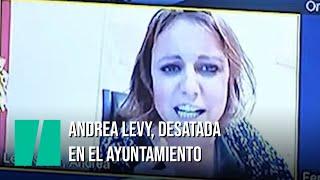 La delirante intervención de Andrea Levy en la Comisión de Cultura del ayuntamiento