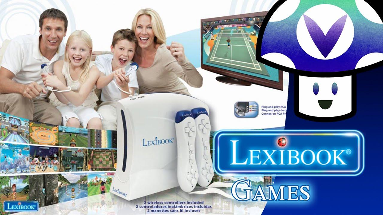 Lexibook Retro game console, 2 controllers, 300 games, 1 ...