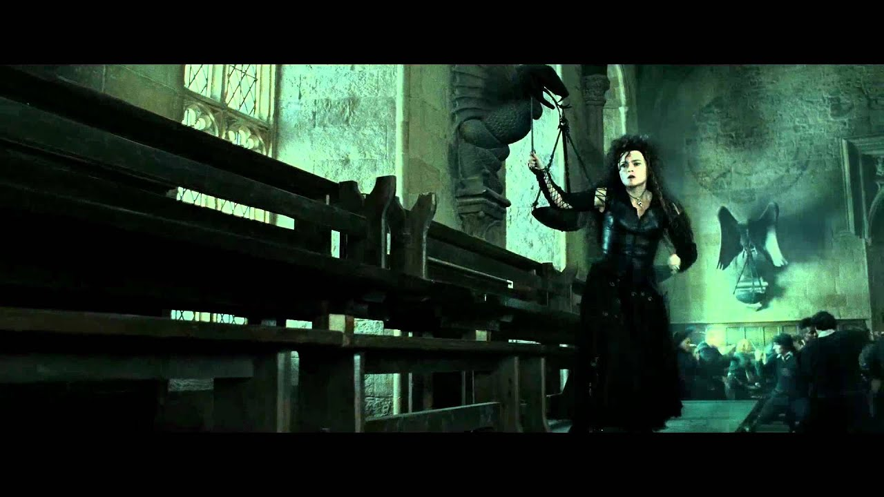 Harry Potter And The Deathly Hallows Part 2 Bellatrix S Death Scene Hd Youtube