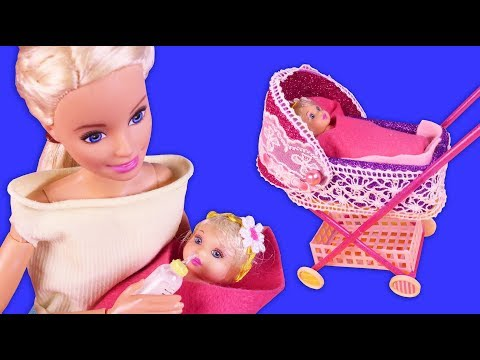 DIY Miniature Barbie Hacks + LOL OMG Dollhouse, Dress, Baby Bottle Lunch Bag and more
