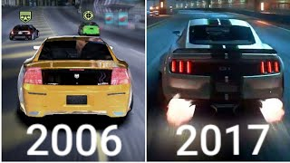 Evolution Of Need For Speed Games (1994-2017) Part 2/ 1080p