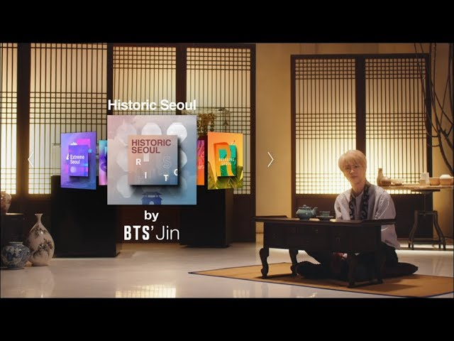 [2018 Seoul City TVC] Historic Seoul by BTS Jin