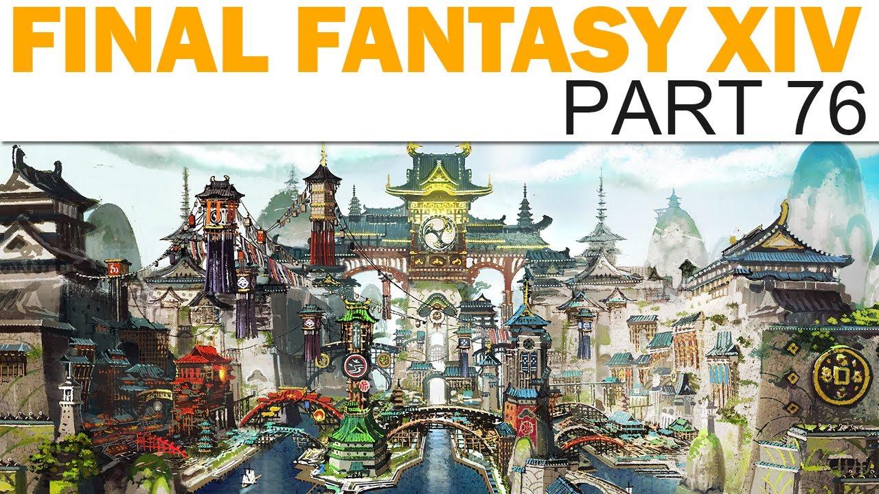 Final Fantasy XIV: Stormblood - Livemin - Part 76 (Let's Play / Playthrough)