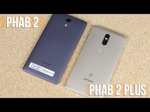 พรีวิว Lenovo Phab 2 และ Lenovo Phab 2 Plus มือถือจอใหญ่ 6.4 นิ้ว กล้องคู่ ราคาเริ่มต้น 7,990 บาท