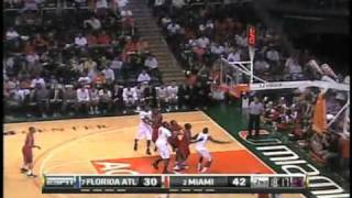 2010-11 Miami Basketball Highlights