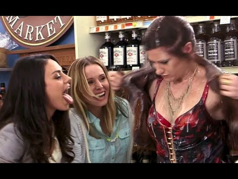 BAD MOMS BRoll Footage  Mila Kunis, Kristen Bell & Kathryn Hahn Go Crazy 2016 Comedy Movie HD