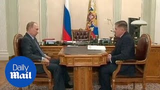 Russian state TV shows Putin for first time in days - Daily Mail